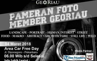 Pameran Foto GeoRiau dalam Peringatan GeoRiau 1st Anniversary